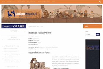 Speelgoed Magazine | Review Fantasy Forts